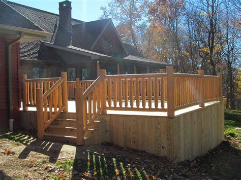 wood decks premier fence decks serving ohio west