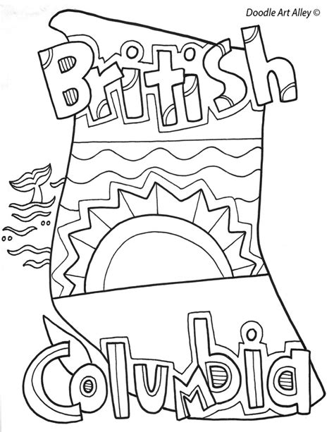 canada coloring pages and printables classroom doodles
