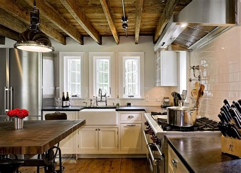 Glass Tile Backsplash Ideas For Kitchens exposed beam ceiling kitchen kitchen traditional with