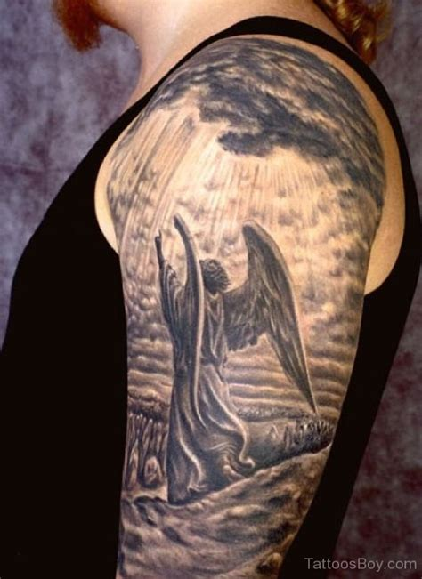 angel tattoo half sleeve designs 105 remarkable guardian angel tattoo ideas designs with