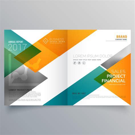 brochure design templates creative business bi fold brochure design template