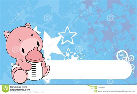 wallpaper cartoon baby boy pig baby cartoon background0 royalty free stock images