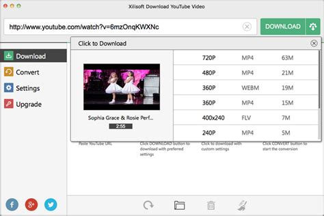 download youtube xilisoft xilisoft download youtube video for mac screenshot