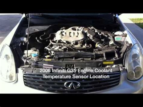 2006 infiniti g35 overheating no heat how to burp then purge cooling system 04