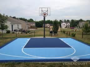 Basketball Court In Backyard Cost Versacourt Indoor Outdoor Amp Backyard Basketball Courts