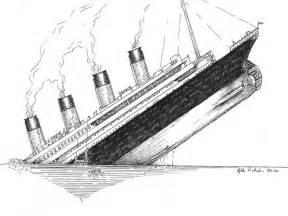 sinking ship coloring titanic ship drawing titanic sinking ship drawing sketch coloring