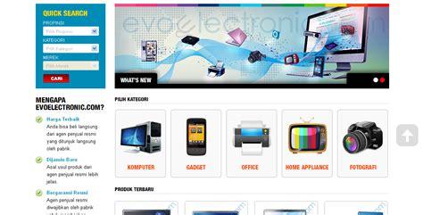 Belanja Elektronik belanja elektronik di evoelectronic sebar top iklan