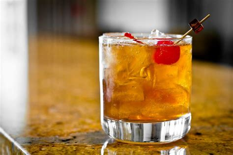 whiskey cocktail bourbon cocktail recipe dishmaps