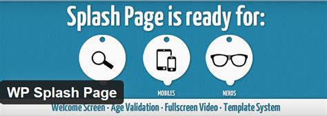 wordpress splash page template the top splash page plugins af templates