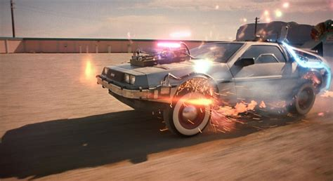 Starsky And Hutch Movie Car Back To The Future Delorean 1955 By Goldcobra84 On Deviantart