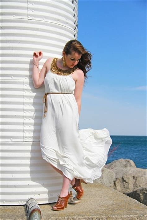Dres Windi h m trend dresses psalms earrings quot white and windy