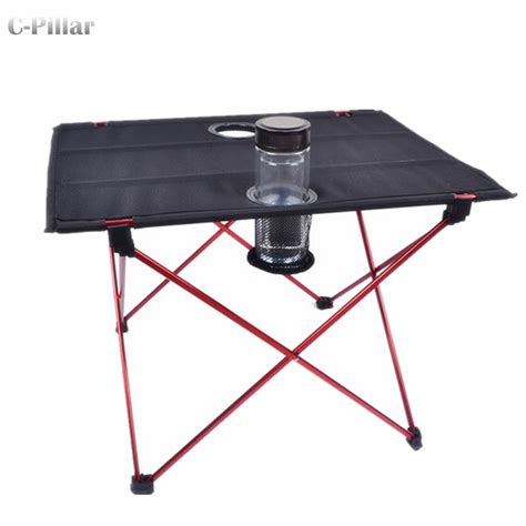 table portable extremely lightweight portable outdoor table aluminium