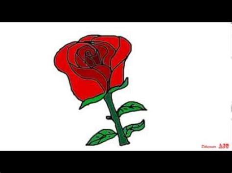 imagenes sorprendentes de rosas animadas para pin como dibujar una rosa y crear dibujos animados de rosa