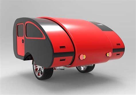 Kitchens Designs For Small Kitchens mini caravan expandable camping trailer gadgetsin