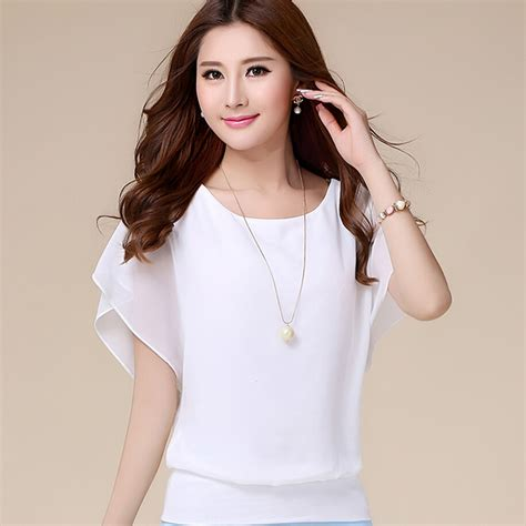 Pakaian Wanita Baju Wanita Baju Korea Atasan Blouse Ribbon Bac jual atasan baju pakaian blouse model korea wanita korean style blus wing dress