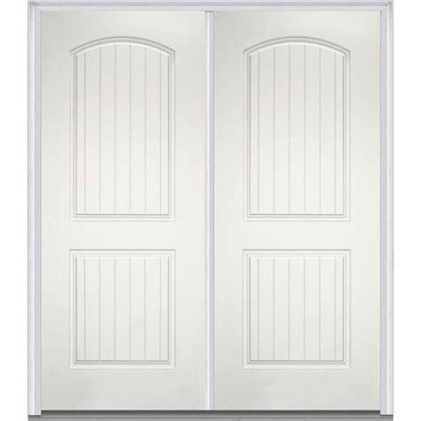 72 x 80 doors mmi door 72 in x 80 in left inswing 2 panel archtop
