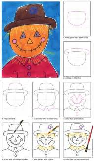 Fun And Easy Christmas Crafts - scarecrow face art projects for kids