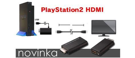 Kabel Av Multi Out Ps2 hdmi p蝎evodn 237 k pro konzole playstation 2