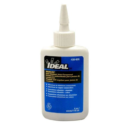 Kitchen Window Blinds Ideas by Ideal Noalox 4 Oz Anti Oxidant Compound 30 026 The Home