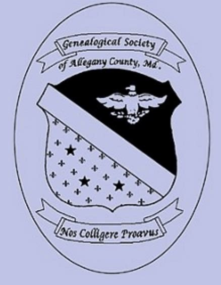 Maryland Marriage Records Free Genealogical Society Of Allegany County Maryland Ongenealogy