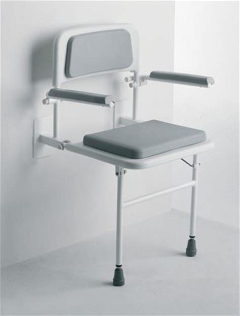 Wall Mounted Step Stool by Wall Mounted Fold Away Shower Seat Bathroom Stool With