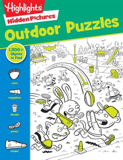 Highlights Pictures Puzzles Book 2 favorite outdoor puzzles highlights favorite