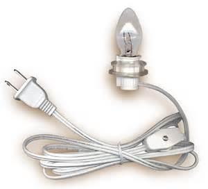 l cord sets with candelabra base light bulb national