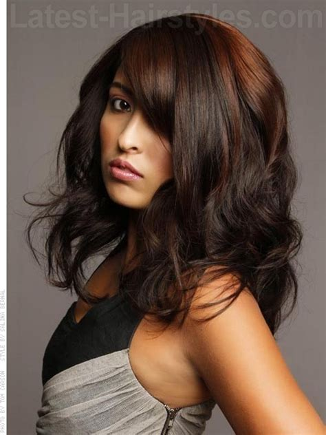 cute highlights for brunettes highlights and lowlights for brunettes stunning ways to