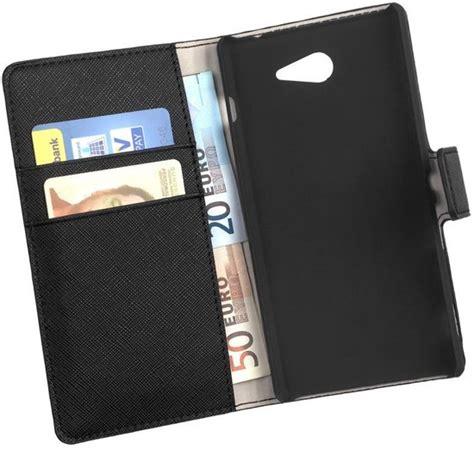 Flip Cover Sony Xperia M M E bol lelycase bookcase flip wallet cover hoesje sony