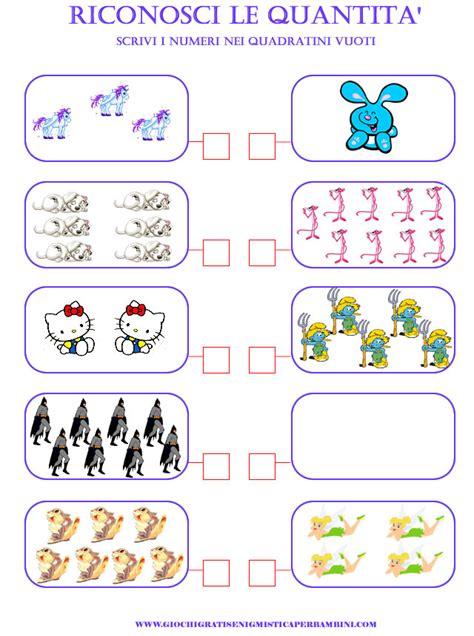 giunge in primavera 6 lettere cruciverba matematica scuola elementare riconoscere quantita giochi