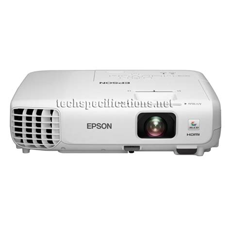 Proyektor Epson Eb W18 technical specifications of epson eb s18 projector