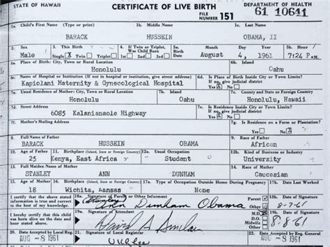 long version birth certificate ontario obama releases long form birth certificate bbc news