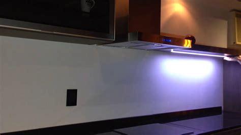 led bajo alacena tactil  arrivals youtube