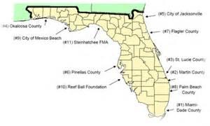 map of florida reefs artificial reefs 2011 florida sportsman