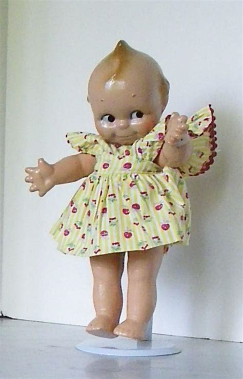 vintage composition kewpie doll all composition kewpie doll is fully jointed from