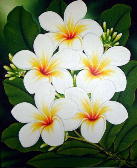 bunga simple contoh lukisan bunga simple gamis murni