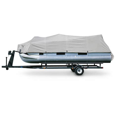 pontoon boat quick covers guide gear pontoon cover 206146 boat covers at
