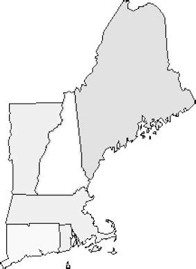 printable maps new england best photos of printable blank map of new england us