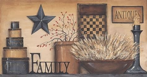 carrie knoff primitive starberry framed country pictures interior home decor art ebay 78 best images about primitive artwork on pinterest