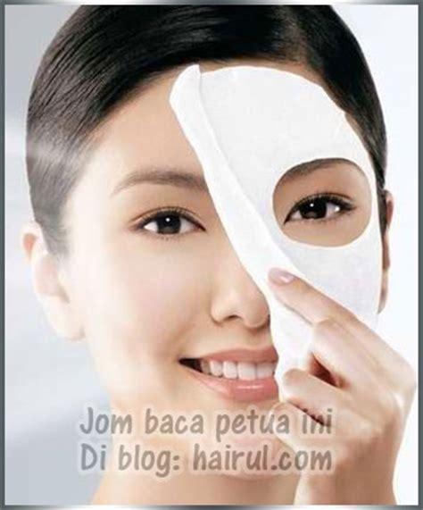 Masker Penutup Muka masker muka dgn buah buahan utk kecantikan wajah hairul