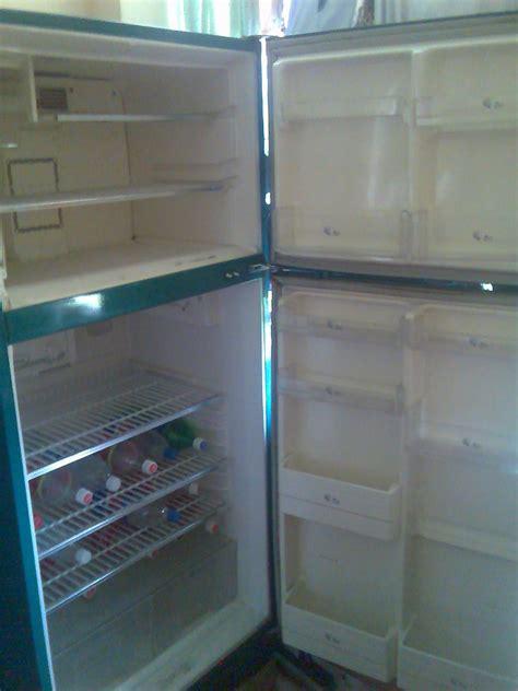 large 2nd 2 door sanyo fridge freezer the market