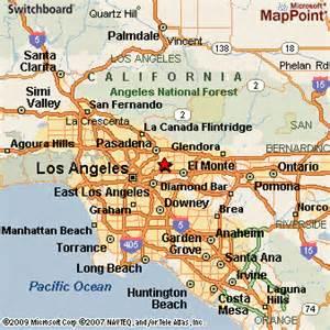 san gabriel california map san gabriel california