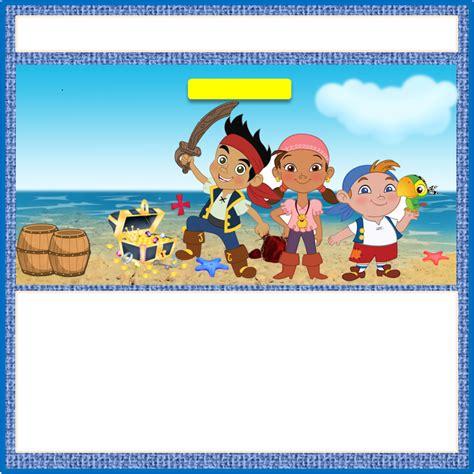 etiquetas imprimibles de jake y los piratas de nunca jake y los piratas etiquetas para imprimir gratis