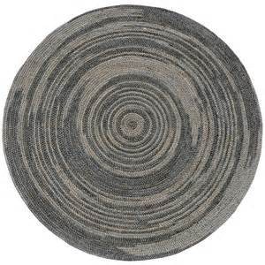 Round Grey Rug Hand Woven Grey Abrush Braided Jute Rug 8 X 8 Round Overstock Shopping Great Deals On
