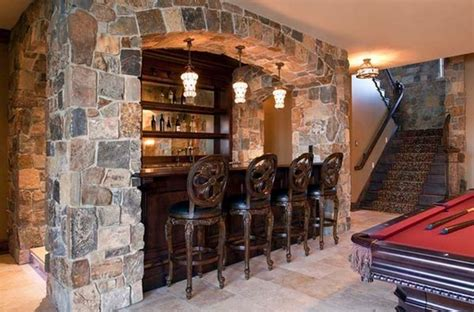 what are basement rocks turn your basement into a bar 20 inspiring designs that