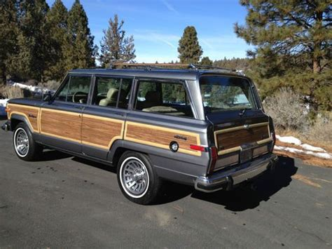1991 Jeep Grand Buy New 1991 Jeep Grand Wagoneer Must See No Reserve