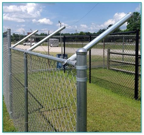 chain link fence post fence post and chain images