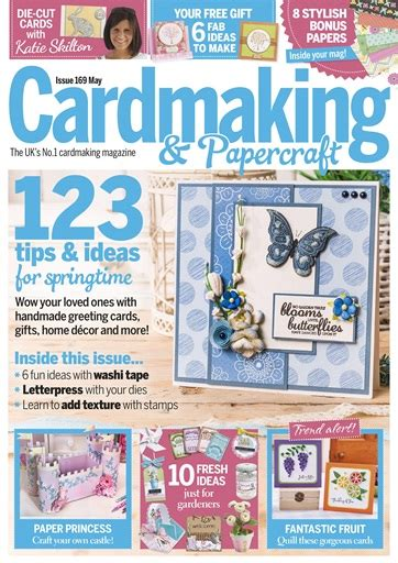Cardmaking And Papercraft Back Issues - cardmaking papercraft magazine may 2017 subscriptions