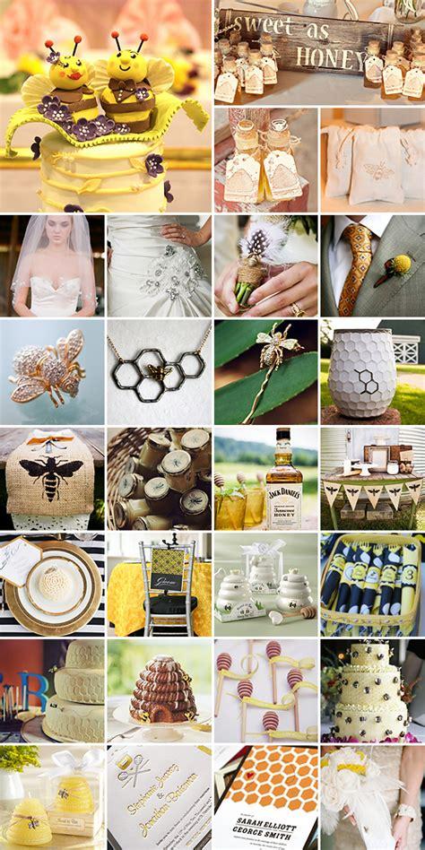 honeybee wedding theme
