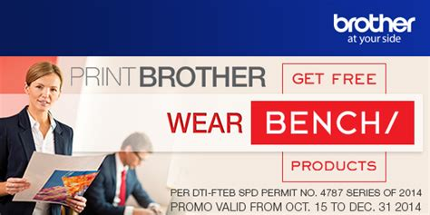 bench philippines products never go out of style with brother and bench